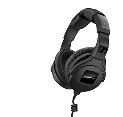 Sennheiser Professional Studio Headphones, Black (HD 300 PRO)