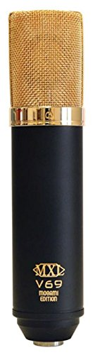 Microfone Condensador Valvulado MXL V69 Mogami Edition