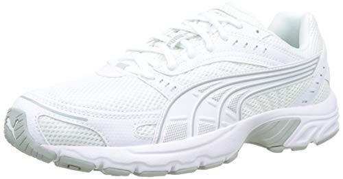 PUMA Unisex Adult Axis Sneaker, White-High Rise, 44.5 EU