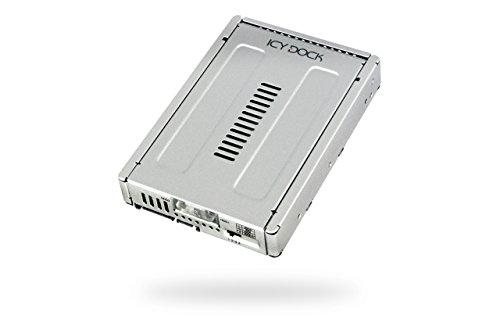 ICY DOCK 2X 2,5 Zoll (6,4cm) zu 3,5 Zoll (8,9cm) SATA SSD/HDD RAID Konverter - Vollmetall EZConvert Pro MB982SPR-2S R1