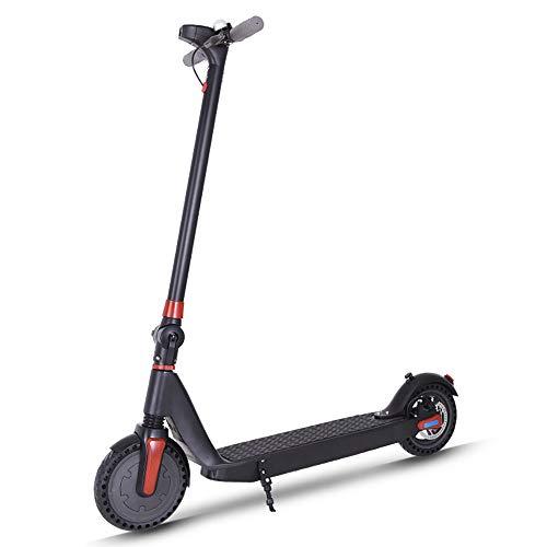 CHAOPENG Scooter Elettrico,per Adulti E Adolescenti Ultraleggero Monopattino Elettrico Design Portatile Regolabile Scooter Adatto per Uscire, Fare Shopping, Andare a Scuola