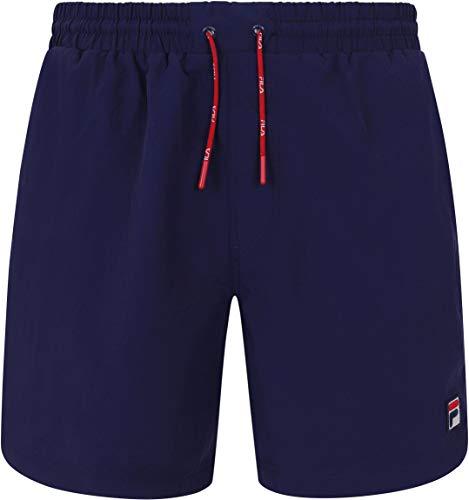 Fila Herren Martin Basic Swimshorts, Blau, XXL
