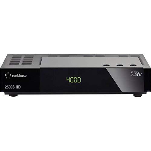Renkforce 2500S HD-SAT-Receiver Einkabeltauglich, Aufnahmefunktion Anzahl Tuner: 1