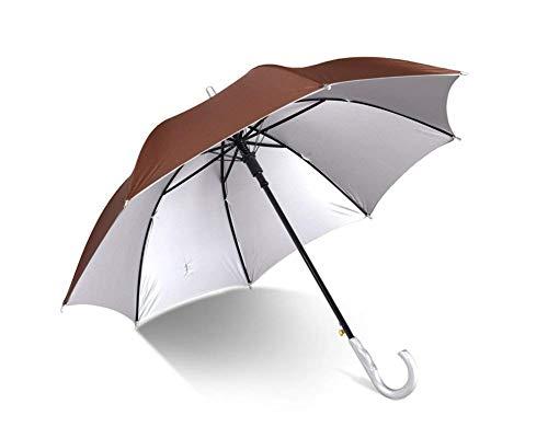kyman A Prueba de Viento y Paraguas-clásicos y UV-Proof versión Grande Resistente a la Intemperie Paraguas, Apertura automática de los Hombres y Mujeres de Golf Paraguas
