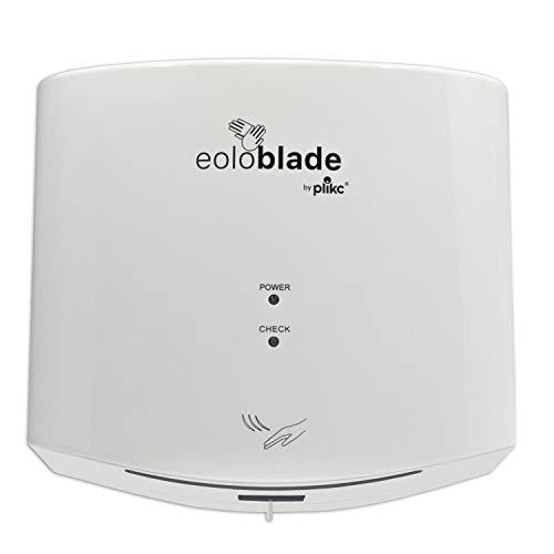 plikc Eolo Blade - Secamanos eléctrico con hoja de aire automática con...
