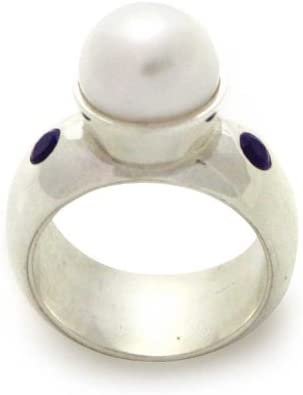 Max 66% OFF NOVICA Amethyst White Cultured Freshwater Si High order .925 Sterling Pearl