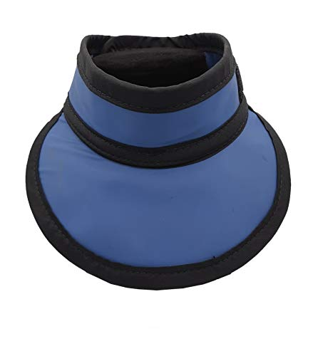 Protector de tiroides estilo gorra de peso ligero contra la radiación 0,5 mm Pb plomo equivalencia en azul marino