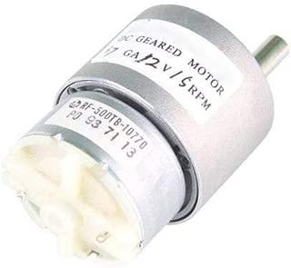 Nextrox 37mm 12V 15RPM Electric Mini Geared Box DC Motor f. DIY High Torque