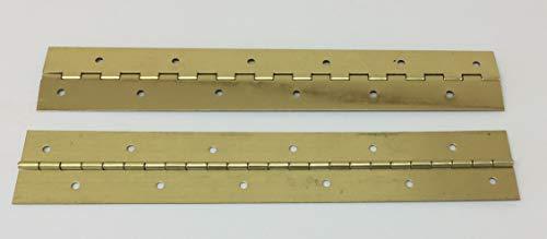 1' x 1' x 12' Brass Piano Hinge