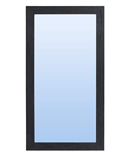 Espejo de Pared con Marco de Madera rústico (Varios tamaños y Colores)   Serie 2671-3 (180 x 80 cm)