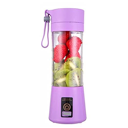 Clhbaih Exprimidor Portátil Blender USB Mezclador ELECTRÁTICO Máquina de licuadora Blender Mini Procesador de Alimentos Copa de licuadora Personal (Color : 07)