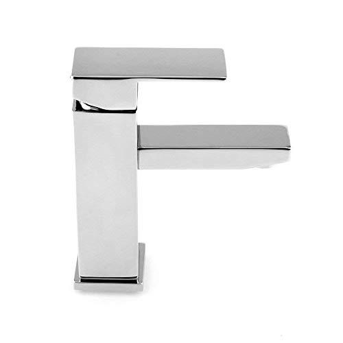 MVPower® Wasserhahn Waschtischarmatur Einhandmischer Waschbecken Bad Küche Armatur Messing verchromt massiv - 6