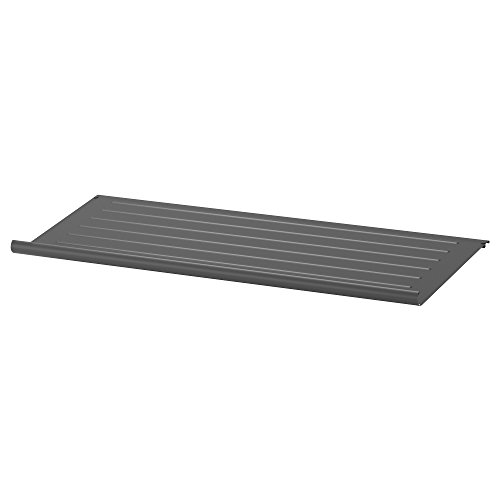 KOMPLEMENT zapatero 96,5 x 34,6 x 4,7 cm, gris oscuro