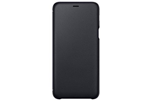 Samsung EF wa605Portafoglio Cover per Galaxy A6Plus Nero