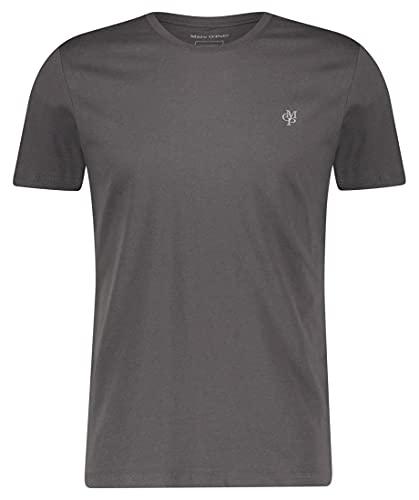 Herren T-Shirt mit kleinem Logo-Print, bequemes Oberteil aus Bio Baumwolle, legeres Kurzarmshirt für Herren