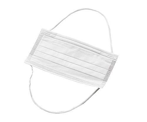 AOMI 三層構造 オーバーヘッドマスク カケンセンター認証 PFE,VFE,BFE99% 100枚入り白 (オーバーヘッドマスク) (オーバーヘッドマスク)
