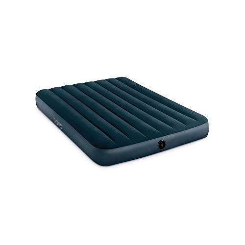 Intex Sage Downy 2 - Colchón Hinchable (137 x 191 x 25 cm), Color Verde