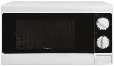 Amica AMG17M70V Encimera Solo - Microondas (Encimera, Solo microondas, 17 L, 700 W, Giratorio, Color blanco)