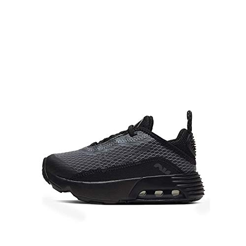 Nike Air Max 2090 (td) Zapatos casuales para niños pequeños Cu2092-001, negro (Negro/Antracita-Lobo Gris-Negro), 25 EU