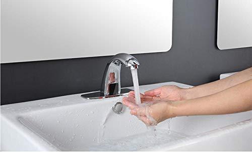 Grifos Para Fregadero Baño Caliente Y Frío Grifos Automáticos Con Sensor Táctil...