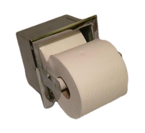 Toilettenpapierhalter für gewerbliche oder häusliche Einbauten, doppelter extra Speerrollen-Spender