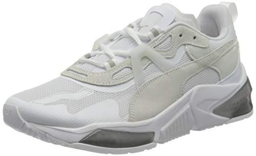 PUMA LQDCELL Optic Pax, Zapatillas de Gimnasio Unisex Adulto, Blanco White/Gray Violet, 39 EU