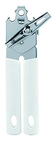 Brabantia'Classic Apriscatole con manico in metallo, bianco