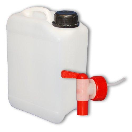 3 liter Kanister mit Auslaufhahn, DIN45