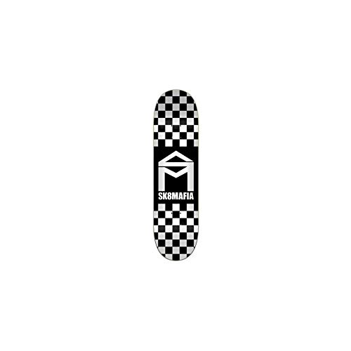 SK8 Mafia Tavola House Logo Checker Black 8.0