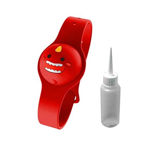 UNKN - Dispenser da polso liquido per adulti e bambini, con bottiglia