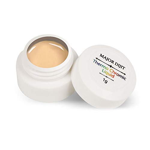 MAJOR DIJIT Farbwechselnder Gel-Nagellack Thermochromer flüssiger Gel-Lack Nagellack UV-Temperatur...