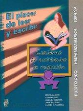 Paperback El Placer De Leer Y Escribir. Cuaderno De Actividades De Redacción (Lengua, literatura y redacción) [Spanish] Book