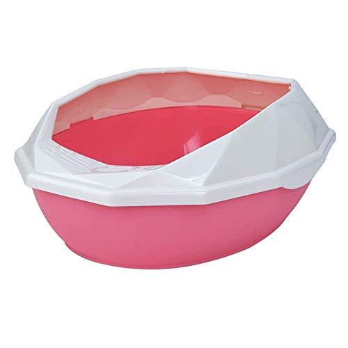 ZXL kat nestkast huisdier benodigdheden afneembare plastic huisdier nestkast half gesloten kat beddengoed huisdier toilet schoonmaak benodigdheden nest & huishouding kat nestdoos (kleur: C)