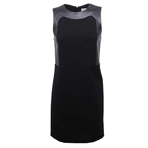 Michael Kors B6266 abito donna nero dress sleeveless woman [40]
