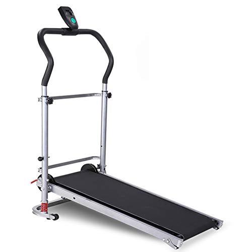 Tapis de course QFF@ Mini Laufmatte, mechanisch, multifunktional, Fitness-Ausrüstung, faltbar, Nicht elektrisch, manuell belastbar bis 150 kg