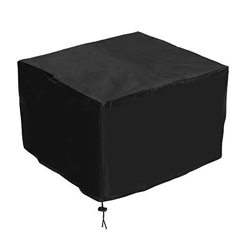 XCQ 47x47x30cm Nylon Staubabdeckung Protector für Epson Workforce HP OfficeJet Drucker Graviermaschine Werkzeuge Kit Haltbar 0321 (Color : Black)