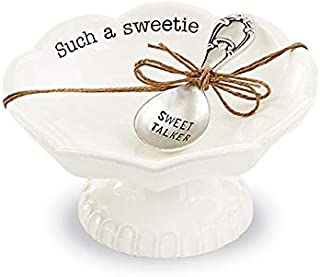 Mud Pie SWEETIE CIRCA CANDY DISH SET, SUCH A SWEETIE