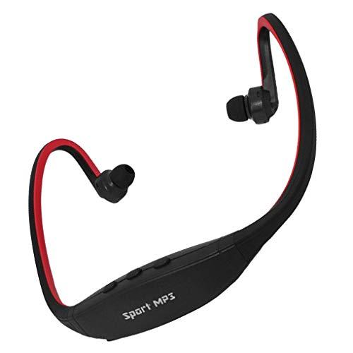 Centitenk Volver Colgar los Auriculares del En-oído del Wireless Deportes Ciclismo Running Auriculares al Aire Libre TF Tarjeta Auriculares