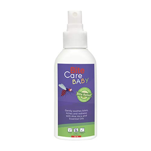 Stichheiler für Babys & Kinder I 100 ml Bite Care Baby I Bio Spray gegen Insektenstiche I Alternative zu elektronischen Stichheiler & Insektenpflaster I Insektenschutz für ihre Babys