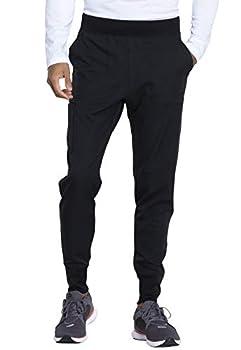 Dickies Dynamix Men Scrubs Pant Natural Rise Jogger DK040S S Short Black
