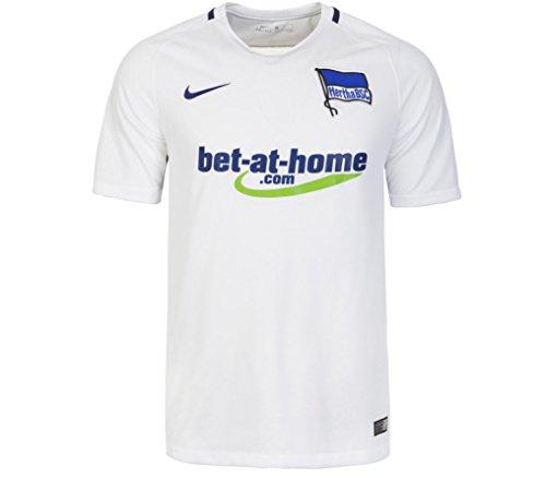 Nike Kinder Hertha BSC Berlin Stadium 2016/2017 Auswärtstrikot, weiß, L-147/158 cm