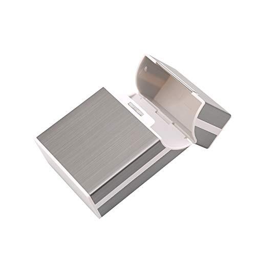 Airlove Zigarettenetui, Aluminium Zigarettenetui Zigarette Zinn Metall Aluminium Pocket Zigarette Zigarette, Tabakdose Etui Halter, Zigarette Box, Zigarettenschachtel für Männer und Frauen