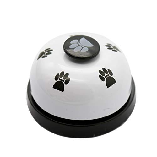 KINGWani Trainingsglocken für Haustiere, Pet Training Metall Bell Dog Training Nicht Gummiböden Interaktives Spielzeug