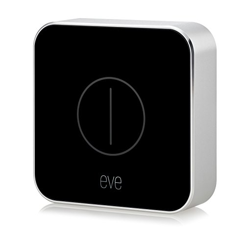 Eve Button - Mando para la casa conectada, con tecnología HomeKit de Apple, Bluetooth Low Energy, negro