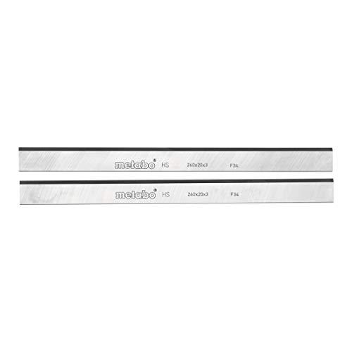 Metabo 0911030721 2 HSS Hobelmesser, HC 260 C/M/K, Farbe, Size