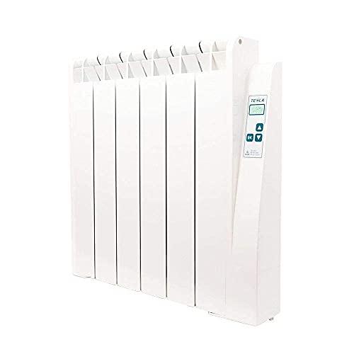 farho Radiador Bajo Consumo Tessla Ultra 1000W (6) · Emisor Termico con Termostato Digital Programable 24/7 · Radiadores Electricos · Acumulador de Calor hasta 15m² · 20 AÑOS DE GARANTÍA