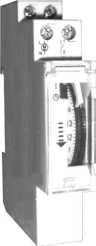 Sesam QSU 17 u Mechanische Tages-Zeitschaltuhr mit Gangreserve circa 100 h, 1 TE