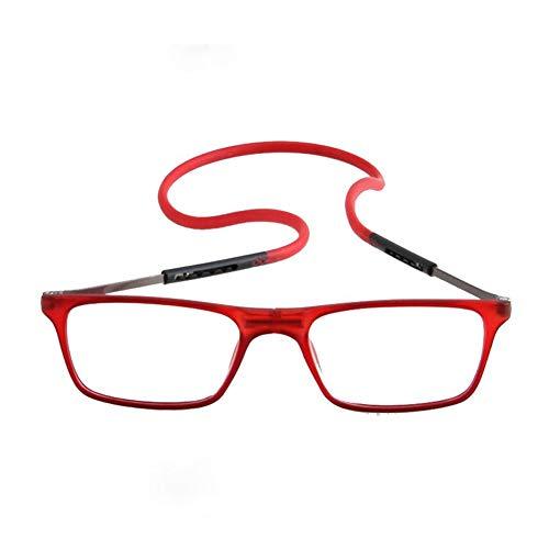 Verbesserte Unisex Magnet Lesebrille Männer Frauen Bunte Verstellbare Hängende Hals Magnetische Vorder presbyopie brille