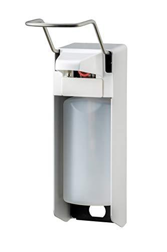 All Care 8055 MediQo-line Distributeur de savon en aluminium avec levier long Blanc 1000 ml