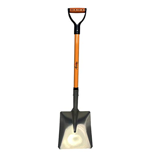 Ashman Square Head Aluminum Shovel with Durable Handle